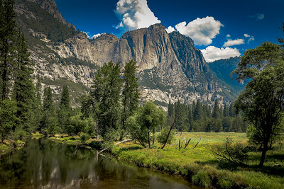 Sentinel Meadow and Yosemite Creek