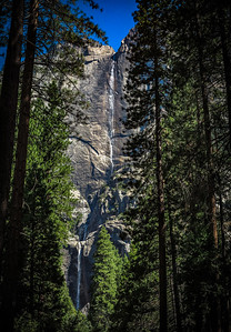 Yosemite Falls Summer Trickle