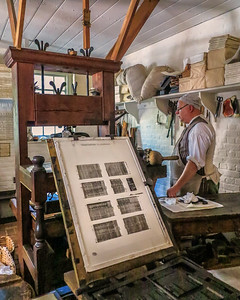 Colonial Williamsburg Print Shop