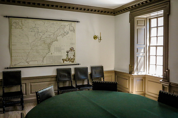 Capital Building Map Room