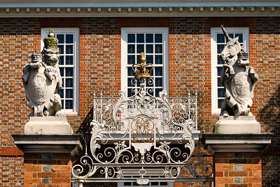 Lion and Unicorn Stand Guard at the Governor's Palace