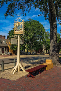 Colonial Williamsburg King's Arms Tavern Sign