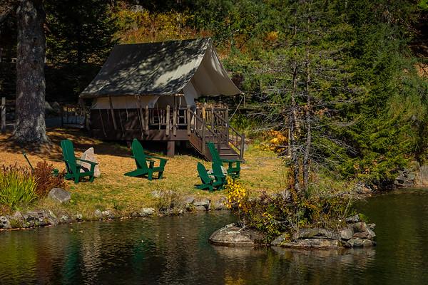 Adirondack Cabin Tent Camp