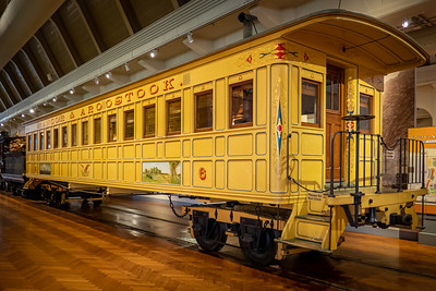 Bangor & Aroostook Railroad Passenger Coach Replica