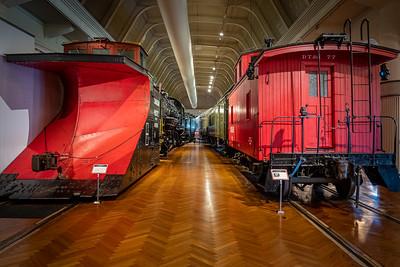 1923 Canadian Pacific Snowplow and 1925 Detroit Toledo & Ironton Railroad Caboose