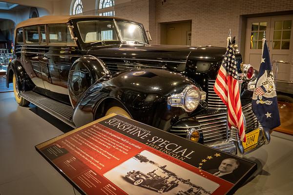 Roosevelt's Sunshine Special - 1939 Lincoln