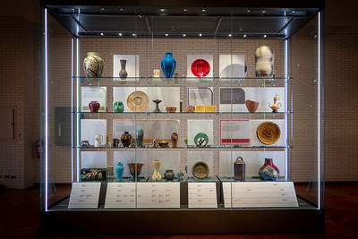 Art Potery and Ceramics Display