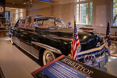 Dwight D. Eisenhower's Bubbletop - 1950 Lincoln