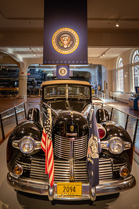 Roosevelt's Sunshine Special - 1939 Lincoln Front