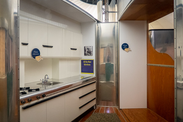 Dymaxion House All-In-One Kitchen