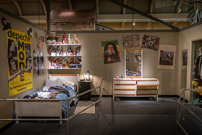 Your Place in Time Exhibit - Teenager's Bedroom, 1987