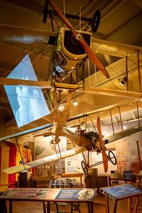 "Barnstorming Wingwalker on a 1917 Curtiss JN-4 ""Canuck"" Biplane"