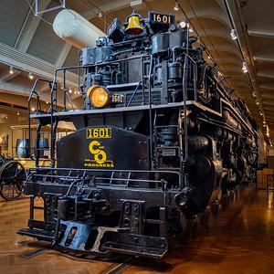 Allegheny Steam Locomotive, 1941