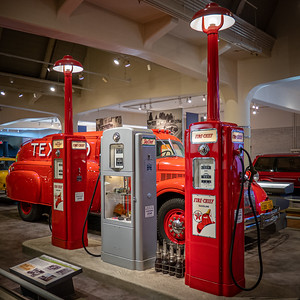 Texaco Fire-Chief Gasoline Pumps, about 1940