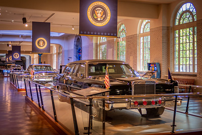 Presidential Vehicles Exhibit