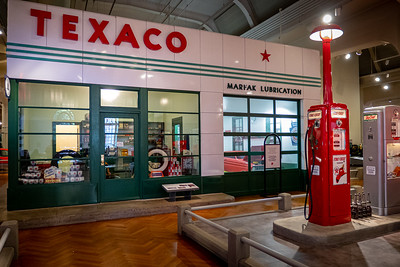 Texaco Service Station, about 1960