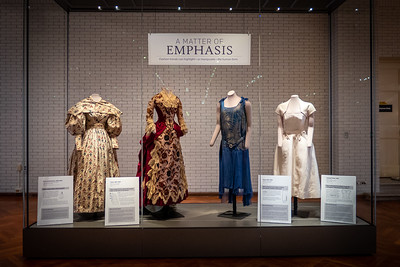 A Matter of Emphasis Fashion Trends Display