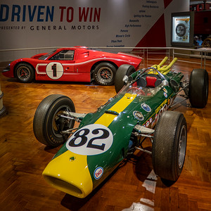 1965 Lotus-Ford and 1967 Ford Mark IV Race Cars