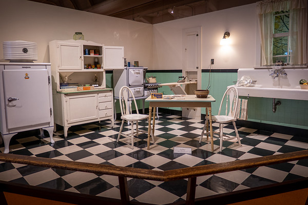 Fully Furnished Exhibit - Kitchen Early 1930s