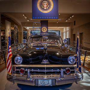 Dwight D. Eisenhower's Bubbletop - 1950 Lincoln Front