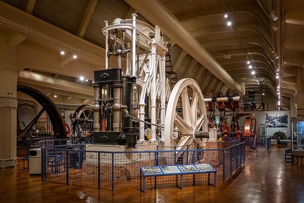 Gothic Revival Beam Engine, circa 1855