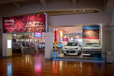 Driving America Exhibit Entrance
