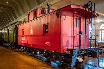 1925 Detroit Toledo & Ironton Railroad Caboose