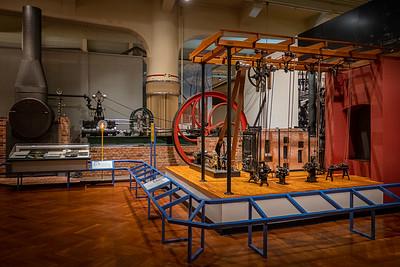 Model Machine Shop, Boiler, and Steam Engine