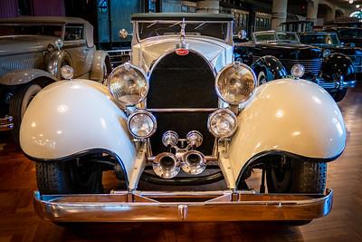 1931 Bugatti Type 41 Royale Convertible Front