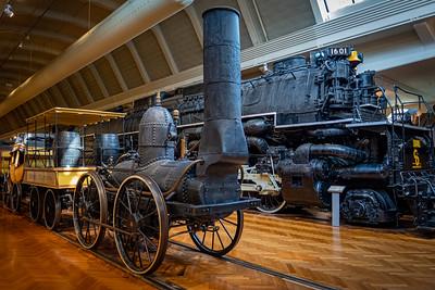 "Replica of 1831 ""DeWitt Clinton"" Steam Locomotive"