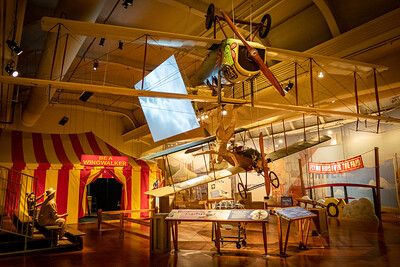 Barnstorming and Exhibitions Display