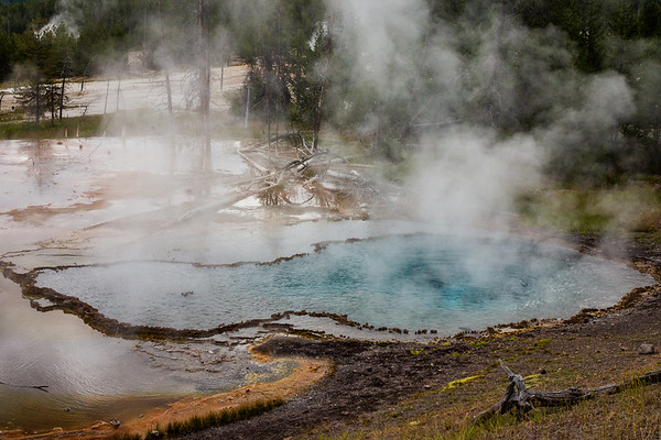 Yellowstone Geothermal Pool