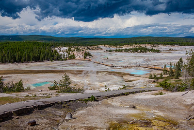 Norris Geyser Basin Trails