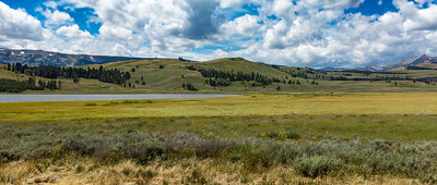 Sentinel Meadows and the Firehole River
