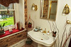 A second floor bathroom  in the Bucks County Designer House.   Tuesday, April 22, 2014.    Photo by Geoff Patton