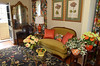 The sittting room in the guesthouse at the Bucks County Designer House.   Tuesday, April 22, 2014.    Photo by Geoff Patton