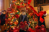 A tree featuring  marionettes  in the living room. (The Reporter/Geoff Patton)