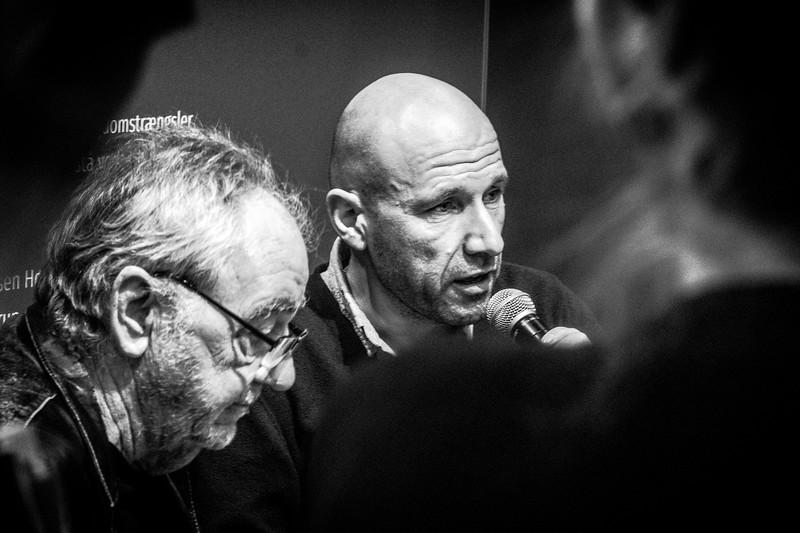 Adam Holm i debat med Lasse Ellegaard om sin nye bog