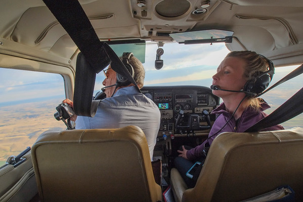 EcoFlight Over the Bighorn Mountains