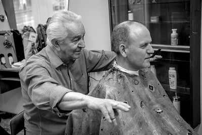 The last day in the hairdressing parlour