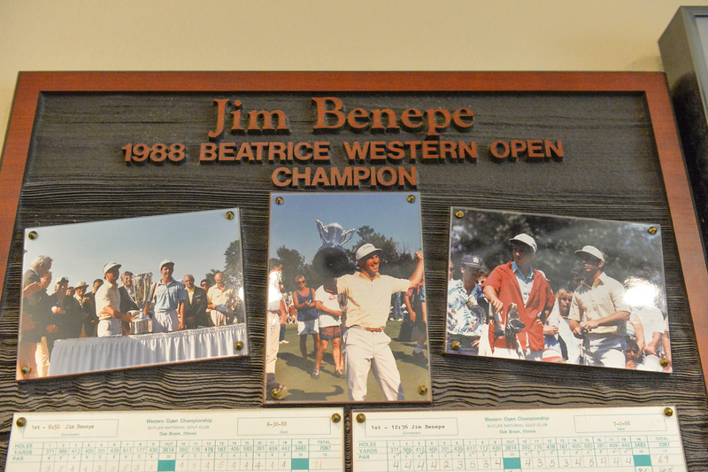 Justin Sheely | The Sheridan Press<br /> Thirty years ago, Benepe outshot the best golfers in the world to win his first-ever PGA Tour start – claiming the 1988 Beatrice Western Open Championship.