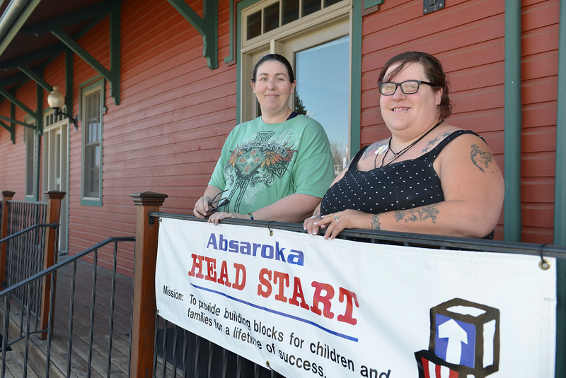 Justin Sheely | The Sheridan Press<br /> Parents Amber Cossel, left, and Amanda Lawrence have been working to save the Sheridan Absaroka Head Start from closing.