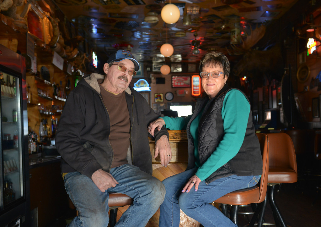 Justin Sheely   The Sheridan Press<br /> <br /> Business owners Art Erickson and Linda Erickson will sell Rails Brews and Cues in March of 2018. The Ericksons owned the building since 2006.