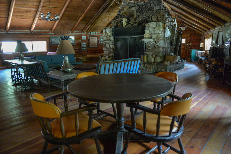 Justin Sheely | The Sheridan Press<br /> Furnishing sit inside the lodge at Spear-O Wigwam in the Bighorn National Forest Thursday, June 28, 2018. The NWCCD board approved the potential sale on June 20 of Spear-O Wigwam, a 67,850-acre area in the Bighorn Mountains. The college leased the property since 2011 and used it for summer education programs and performances.