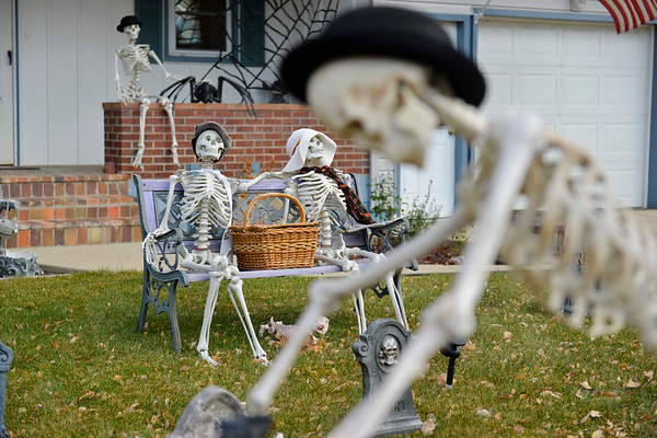 Spooky Front Yard Decor