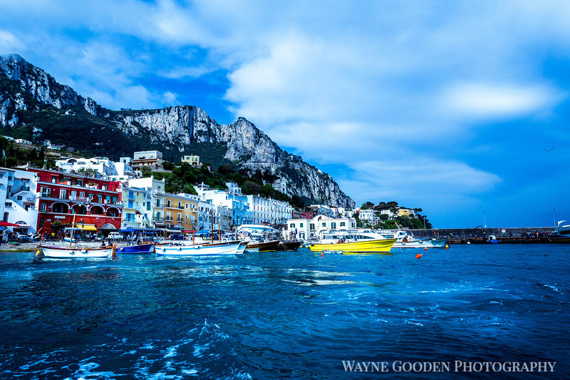 Spring Day in Capri Italy