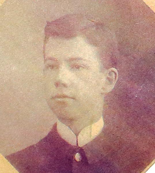 Cadet Clement Yore, 1894-1895 (?)