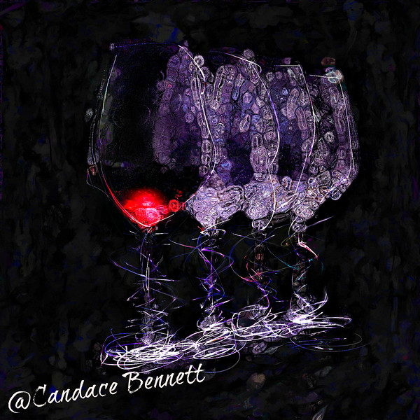 Entitled: Whimsical Wine.