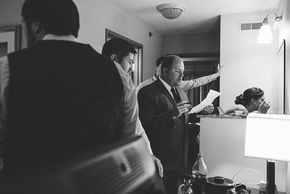 Groom Prep and Pre-ceremony Portraits