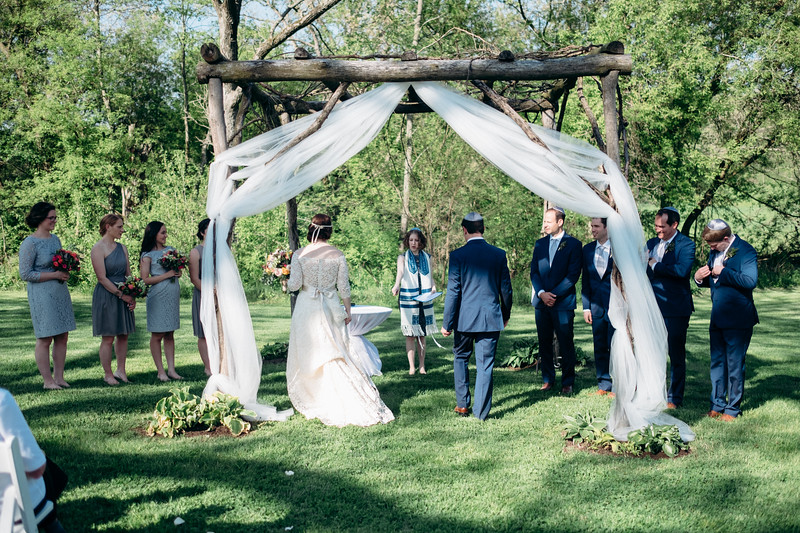 Jewish Ceremony under Chuppah